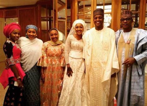 Zahra Buhari & Ahmed Indimi?s White Wedding