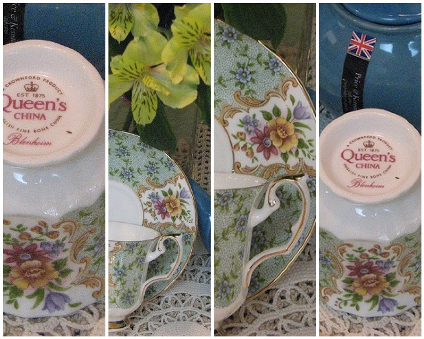 Blenheim Tea Cup Mosaic