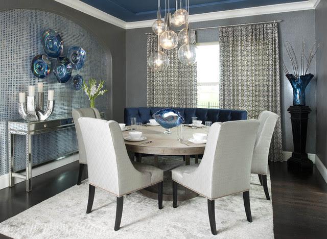 Formal Dining Room - Contemporary - Dining Room - dallas ...