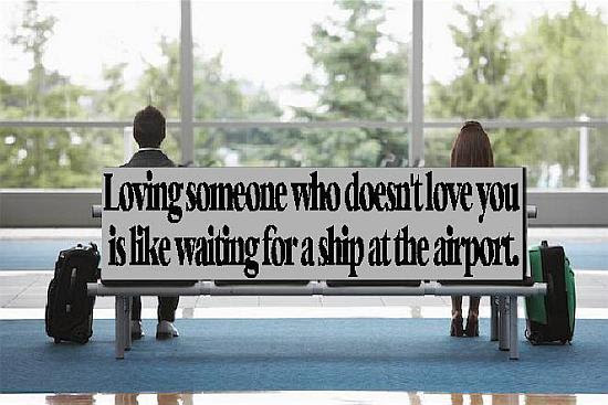 Loving Someone Who Doesnt Love You Quote Picture