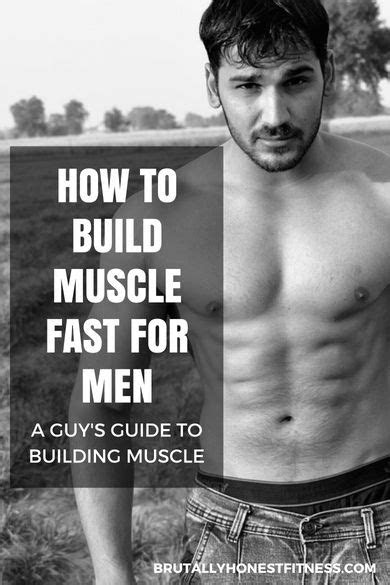 How to Build Muscle FAST For Men | Build muscle fast
