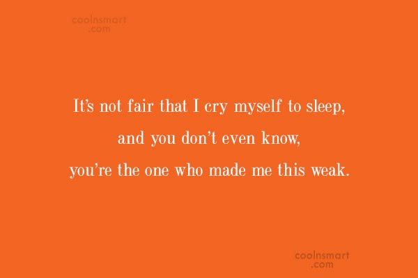 Cry My Self To Sleep Quotes Best Cars 2018