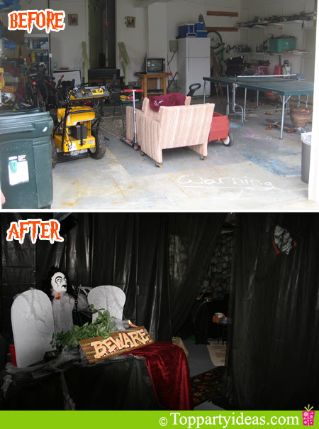 7 Spooktacular Halloween Garage Door Decorating Ideas Overhead