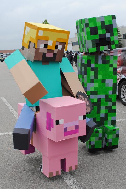 Minecraft Cosplay
