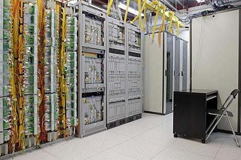 Imagen de un centro de datos