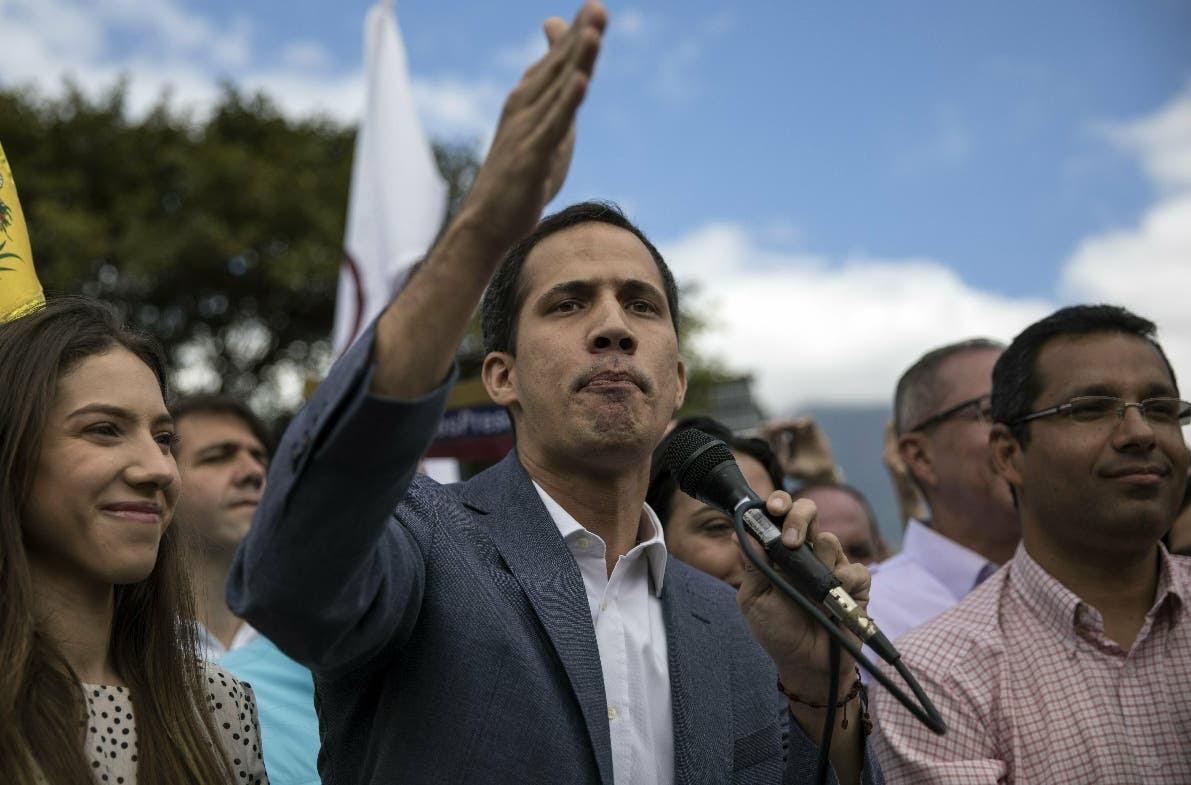 El autoproclamado presidente de Venezuela, Juan Guaidó, anunció cuentas estatales.