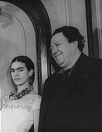 Frida Kahlo and Diego Rivera in 1932, Photo by: Carl Van Vechten - Wikipedia.org