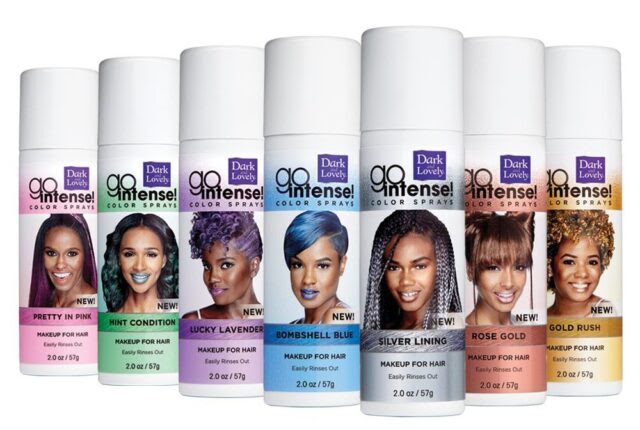 Dark And Lovely Launches Go Intense! Temporary Hair Color ...