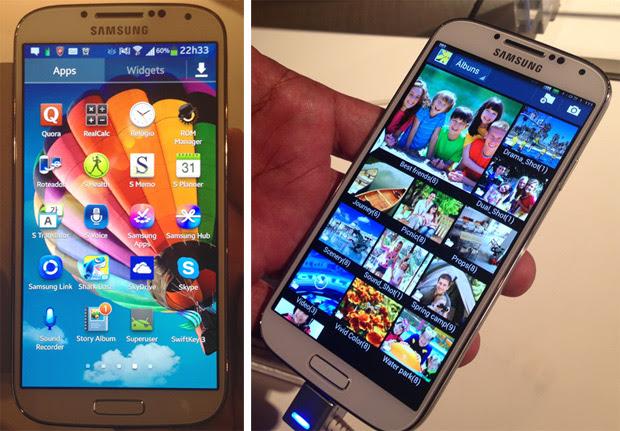 Samsung Galaxy S4 chega ao Brasil (Foto: Nick Ellis/TechTudo)