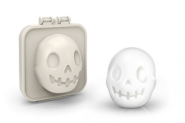 Skull-Shaped Boiled Egg Mold
