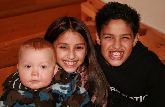 Kevin, Kalyani og Patrick