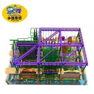 Kids Jungle Gym Indoor Obstacle Course Equipment Commercial High