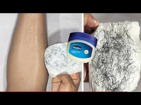 vasiline తో ఇలాచేస్తే మీ అవాంఛిత రోమాలు శాశ్వతంగా రాలిపోతాయిunwanted facial hair removal perminently