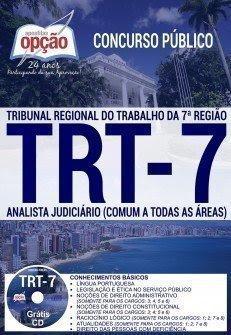 apostila ANALISTA JUDICIÁRIO trt ceara 2017
