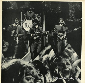 BEATLES, THE back in 1964 at the hollywoodbowl