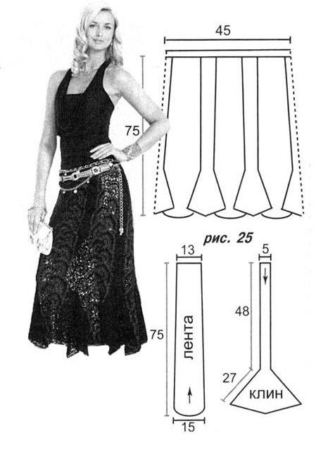 Pattern skirt (449x643, 38Kb)