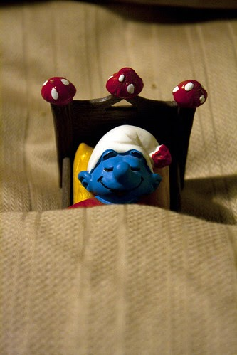 A Smurf Smurfing a Dream