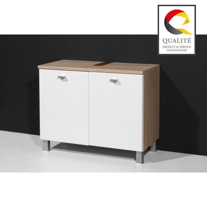 meuble cuisine dimension: meuble sous vasque 70 cm