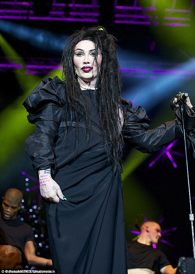 Rest in peace Pete Burns who died this week age 57