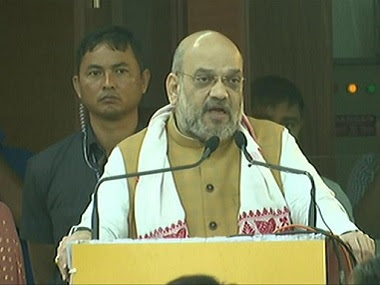 File image of Home Minister Amit Shah. ANI