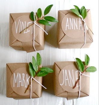 Simple Presentations:easy gift wrapping