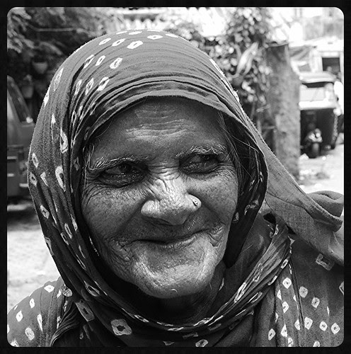 The Traditional Congress Voter ...The Poor Muslim Lady by firoze shakir photographerno1