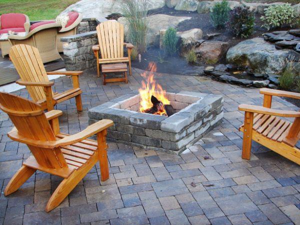 DIY Fire Pit Patio Ideas