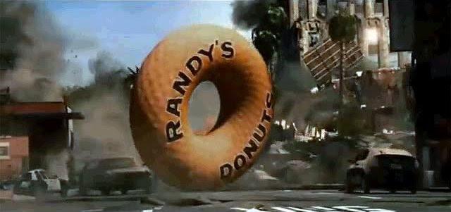randy donut roll