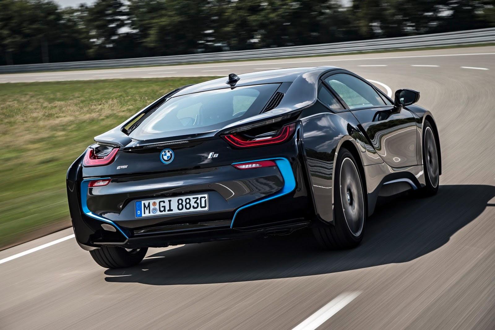 BMW i8 Plug-In Hybri