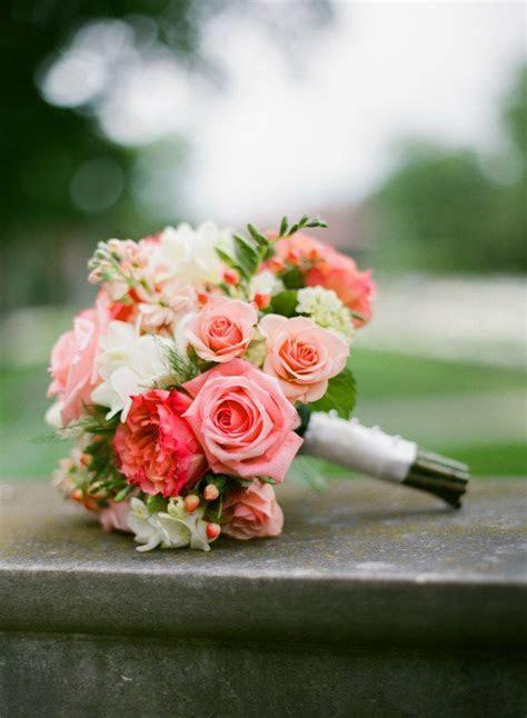 Wedding Inspiration: Romantic Coral   Pretty Happy Love