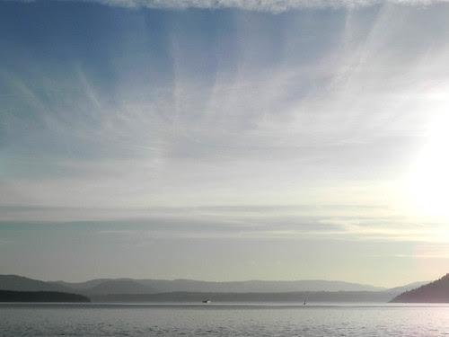 View from the Schwartz Bay bound ferry