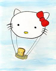 Hallo Kitty Balloon