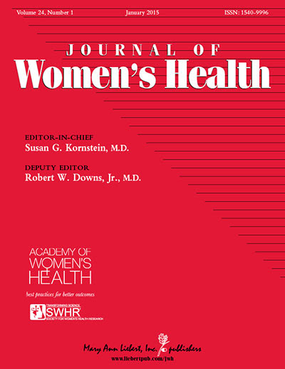 Cover for Journal of Women's Health