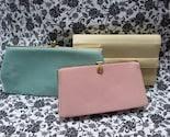 3 Spring Vintage Clutches - Pastel Colors
