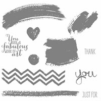 Work Of Art Clear Stamp Set