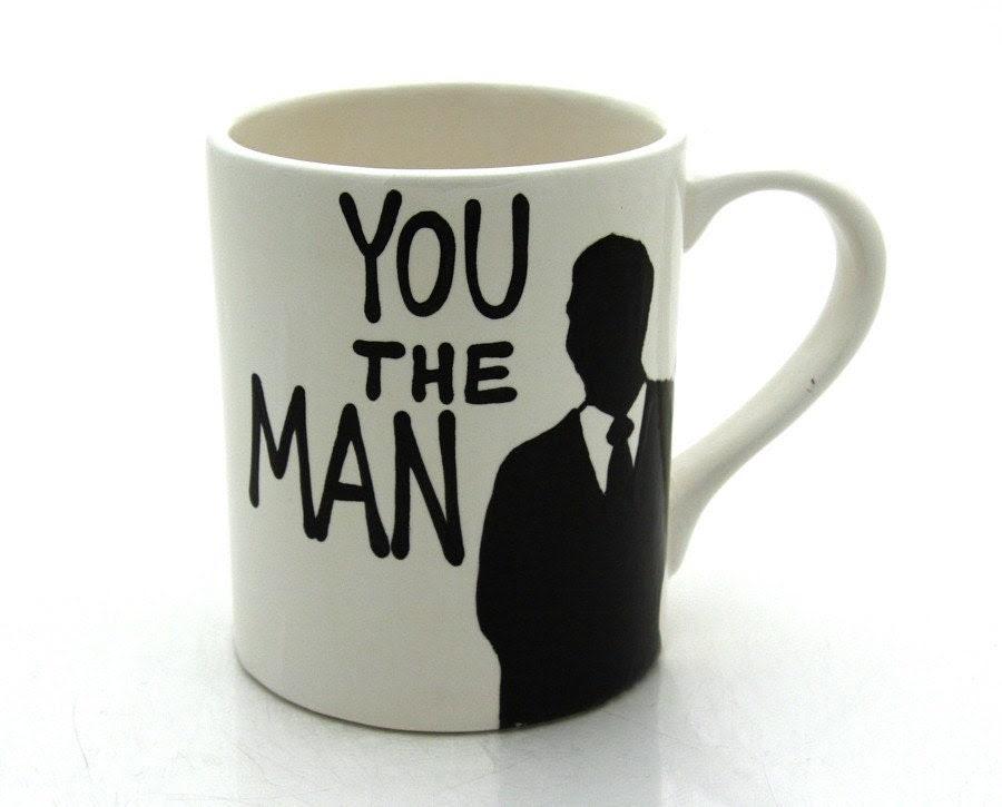 You The Man Mug Gift For Him - LennyMud