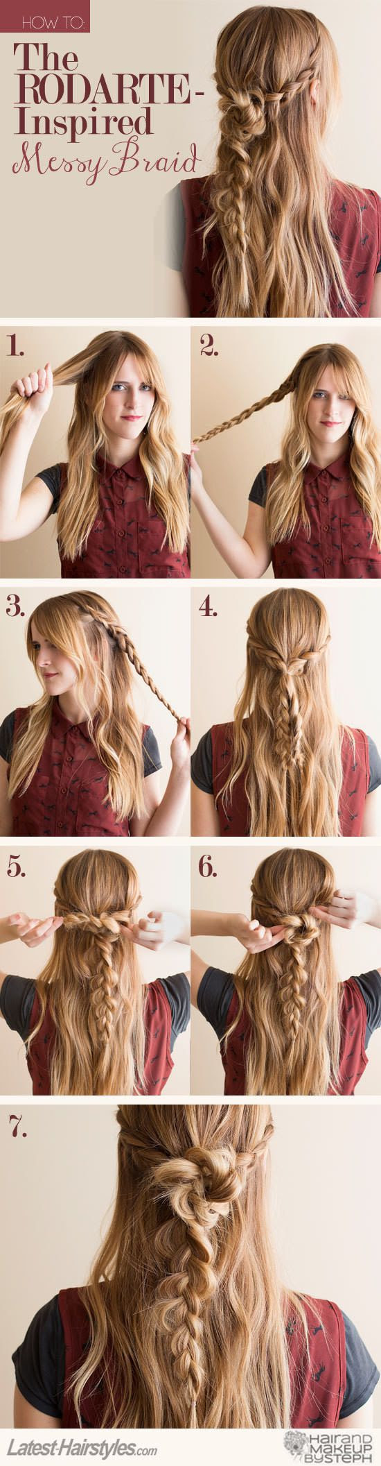 Rodarte inspired braid