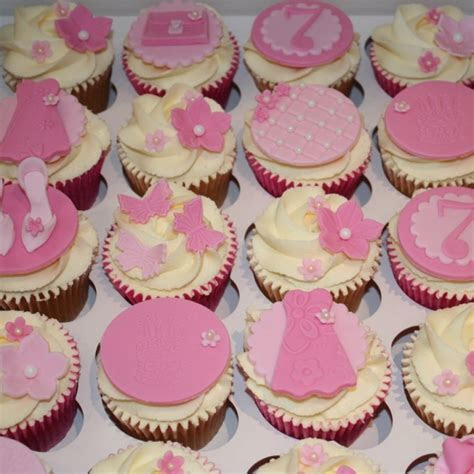 Pink/girly cupcakes   fashion theme