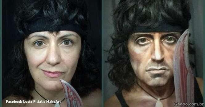 Esta maquiadora talentosa tem o poder de se transformar em quem quiser