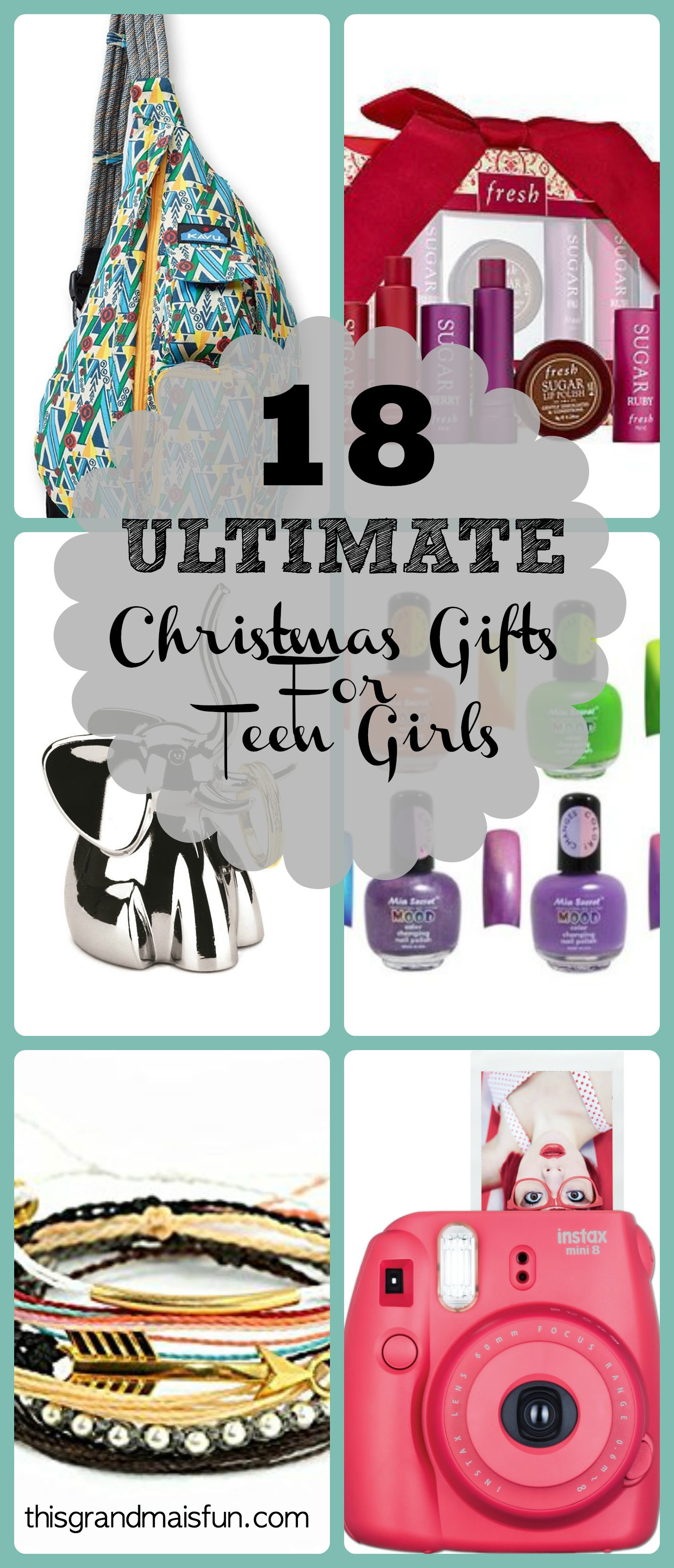18 Ultimate Christmas Gifts for Teen Girls - TGIF - This ...