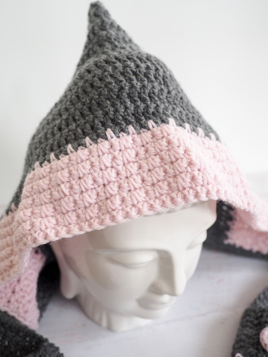 Hooded Scarf Sewing Pattern Free
