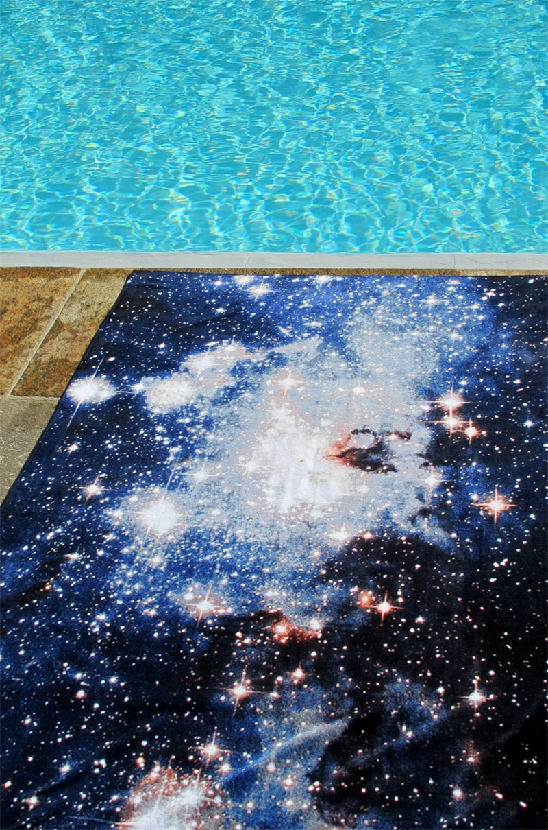 Nebula Rugs and Towels by Schönstaub stars space home carpets