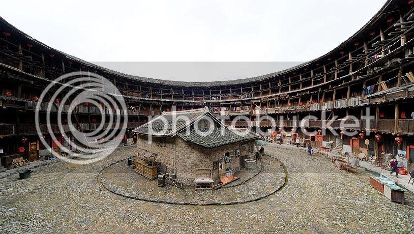 maison ronde Chine