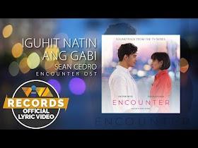 Iguhit Natin Ang Gabi by Sean Cedro [Official Lyric Video]