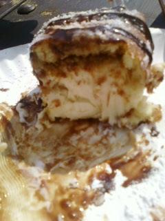 deep fried cheesecake