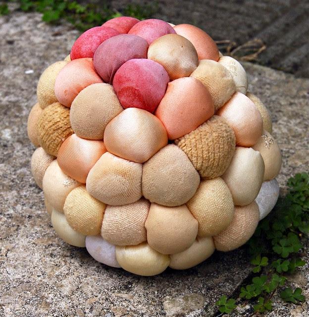 Pinecone pincushion