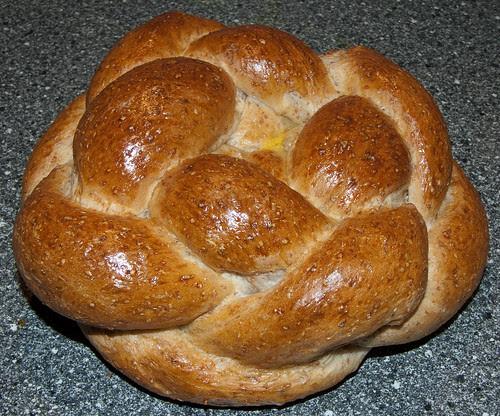 Gevlochten brood