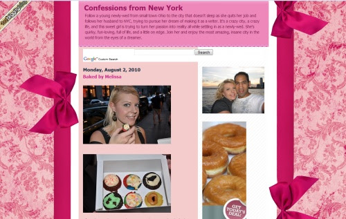 Confessions from New York