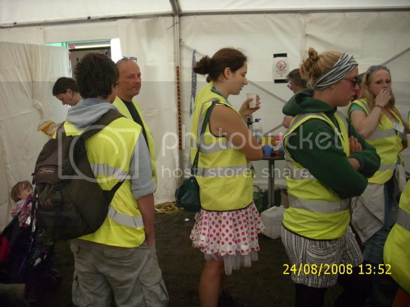 came as stewards…