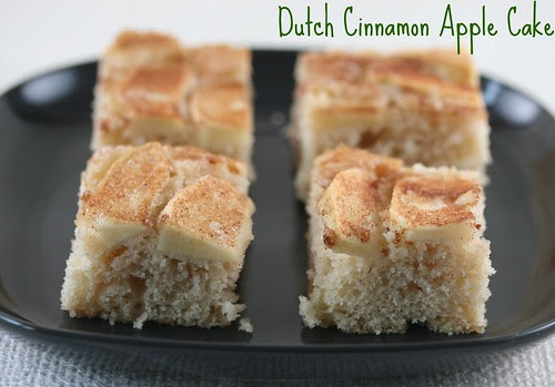 Dutch Cinnamon Apple Cake